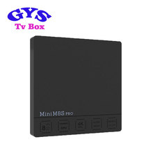 2017 Cheapest Android TV Box Mini M8S Pro Amlogic S912 2G 8G 4K free Video TV Box