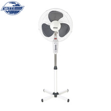 "Hot Sales PP Blade 16"" Remote Control Stand Fan With X Cross Base"