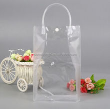 Wholesale Fashion pvc coated cotton shopping bag with high quality