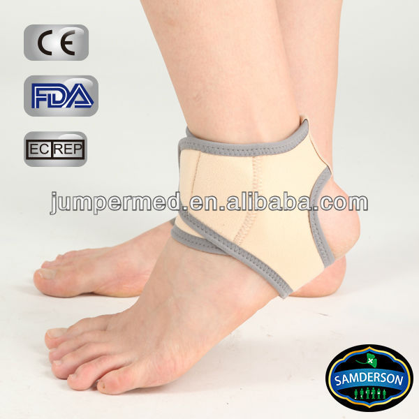 skin color sports neoprene leg breathable ankle guard