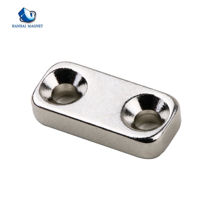 Customized countersink ring rare earth magnet/magnet neodymium with hole