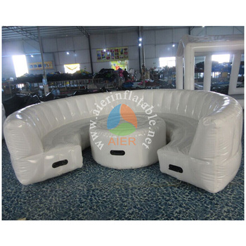 Cheap giant high quality Inflatable Outdoor air Sofa furniture Relax in living room for Sale