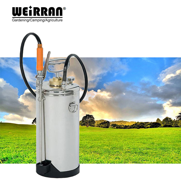 8L agriculture high pressure sprayer, chemical sprayer, air assisted airless sprayer