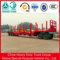 China Farm Use Trailer Timber Transport