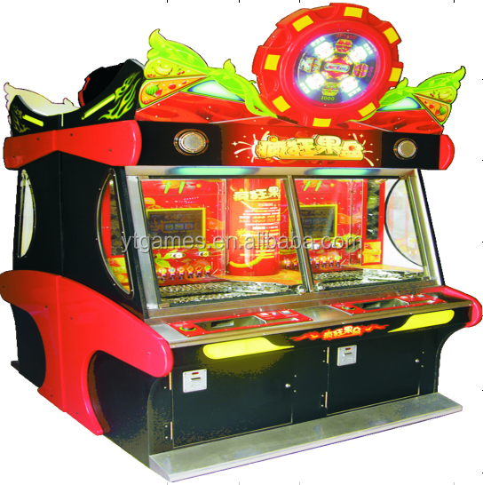 crazy fruit casino game machine coin pusher machine
