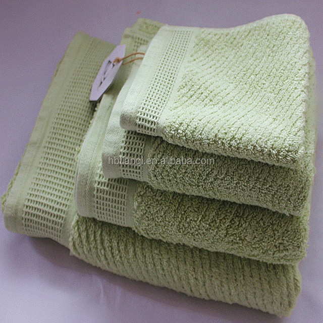 Wholesale cheap price Stripe made in China terry cloth egyptian cotton towels