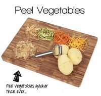 Kitchen tool stainless steel peeler / garlic peeler / slicing board