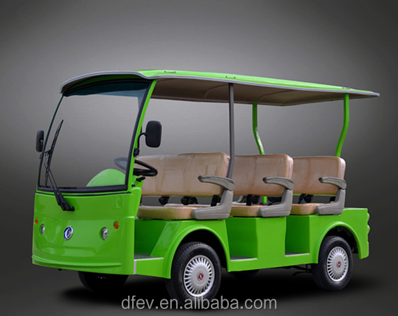 8 passengers Electric tourist coach with power assisted steering
