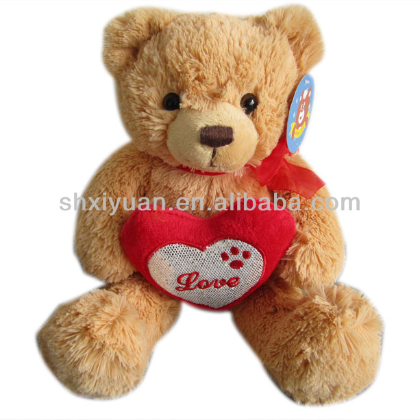 Top quality plush stuffed bear toys
