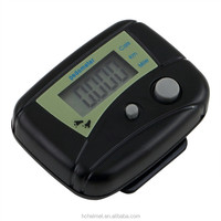 2pcs Black Digital LCD Run Step Run Pedometer Walking Calorie Counter Distance Clip-on H1E1