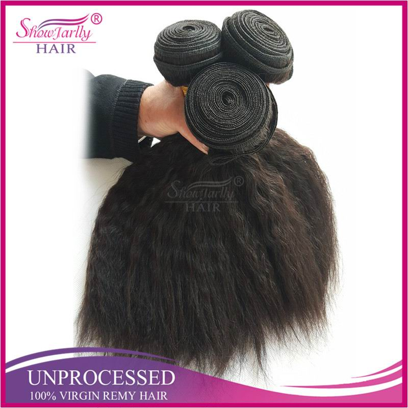 Beautiful virgin chinese kinky hair 100% natural indian human hair price list for hair extension and wig fashion accessory