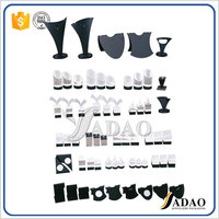 Unique Black Acrylic Plexiglass Necklace Jewelry Display Stand With Hook for Jewelry Display stand