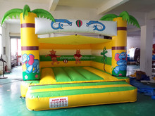 Super good infaltable bear bounce high quality adult bounce house