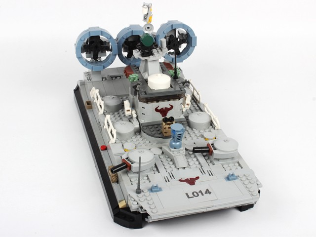 Best selling items 928 pcs marine corps series the bison hovercraft building block toy