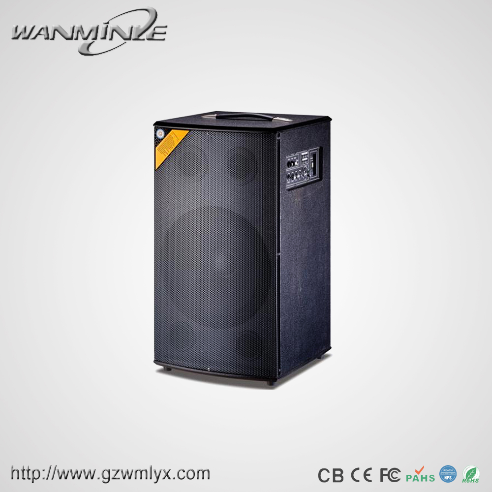 black color full grill single 8Inch speaker portable outdoor using professional speaker for meeting, morning exercise