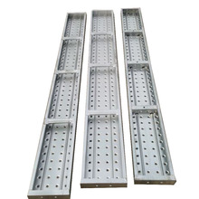 China manufacture Tianjin TSX scaffolding perforted standard galvanized steel plank