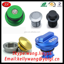 TS 16949 CNC Milling Mahining Precision Autoplant Car Ram Stainless Steel/Aluminum DEF Diesel Fuel Tank Cap