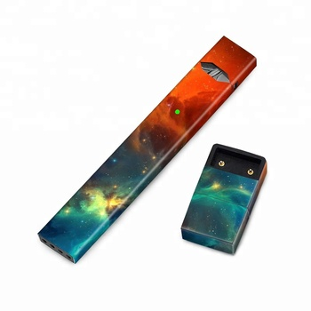 Custom Full Coverage Colorful Galaxy Juul Skin Decal Sticker Wrap Protective Case for JUUL