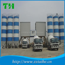 Building machinery HZS60 self loading concrete mixer prices , mobile portable cement plant for sale