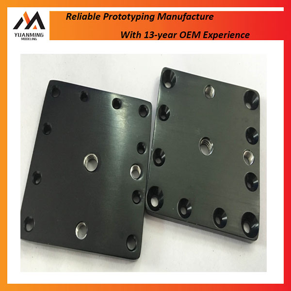 High Demand Precision CNC Machining Black Anodized Aluminum 7075 Stamping Parts