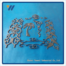 Hot Selling Promotional Modern Cast Iron Fence Ornaments