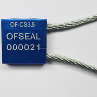 cable security cable seal,cable lock seals OF-CS3.5