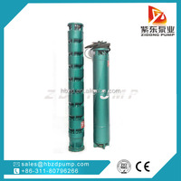 QJ type agriculture irrigation submersible pumps