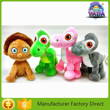 2015 hot sale dinosaur family movie plush toy stuffed animal baby toy