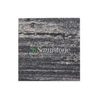 Samistone Nero Santiago Granite Flamed Landscaping Granite Paving Stone