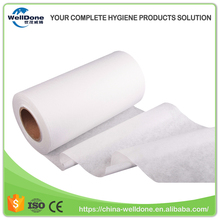 Wet Wipe Raw Materials Hydrophilic Spunlace Nonwoven Fabric