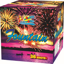 Cake and Display shell firework 1.2' 36Shots fountain M616-36A