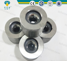 Tungsten carbide drawing die nibs with steel case