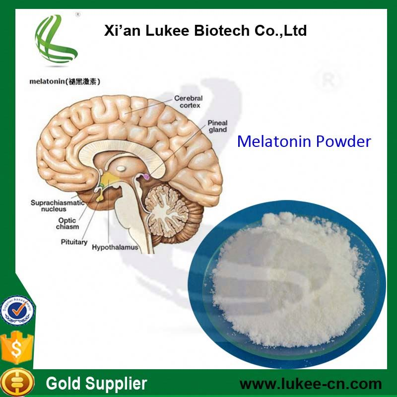 China manufacturer pure melatonin bulk powder