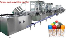 aerosol paint filling equipment