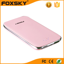 Fast Delivery White gold rosy etc 1000pcs power bank from vipow made in China