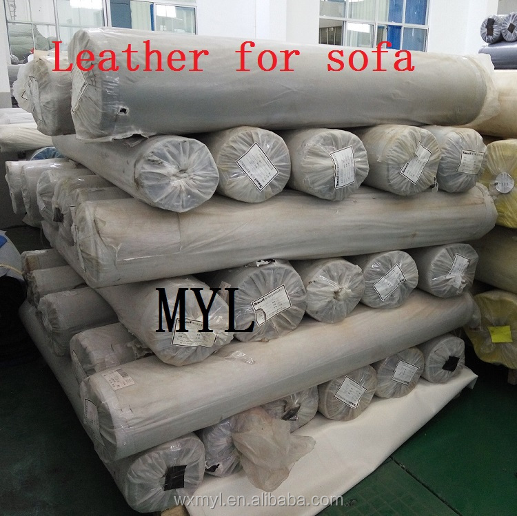 Good quality lichee pattern leather embossed pvc hot sale