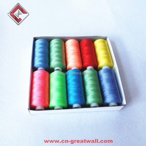 40s/2 100% spun polyester sewing thread, Cheap sewing thread wholesale