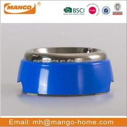 Blue Stainless Steel wholesale dog bowl