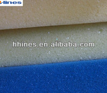 white and blue pu foam for package and transport