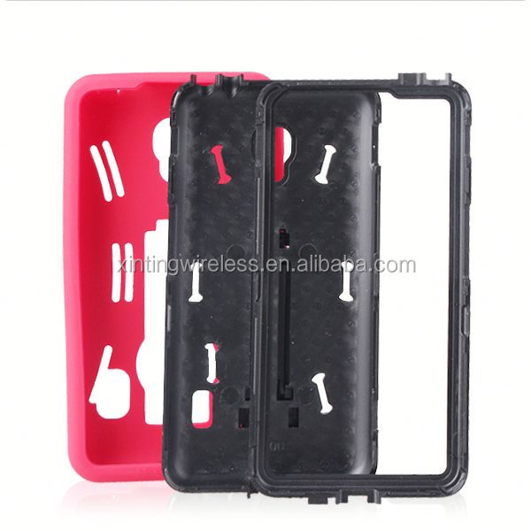 Direct factory price for lg optimus f6 d500 pc silicon case for lg d500