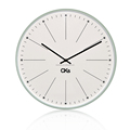 28cm SIZE Office and home Print paper dial Y.T. Step Movement glass wall clock