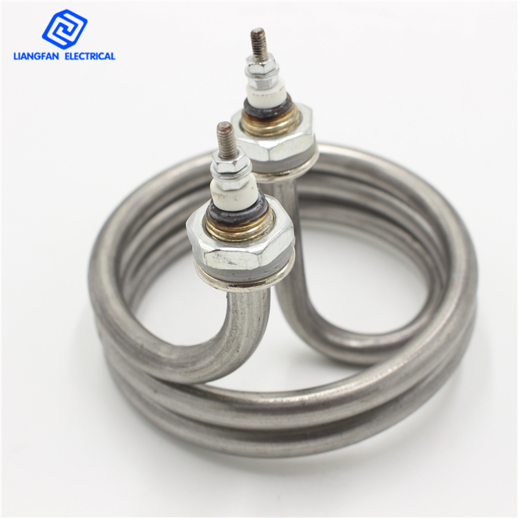 Water Heater Electric Tube Spiral Heating Element Stainless Steel 220V 4500W