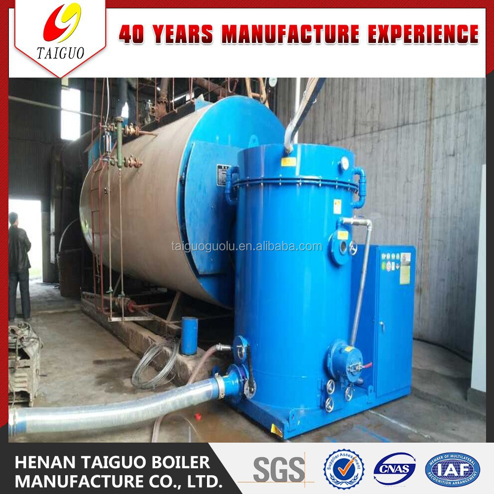2015 Green!! 0.5-6Tons Wood Pellet Steam Boiler with Pellet Burner for Industry