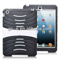 For iPad Mini Robot Kickstand Hybrid Combo Case