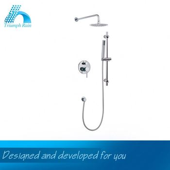 Quick Lead Factory Direct Price Single Lever Brass Concealed Shower Mixer Aluminum Bathroom Accessories