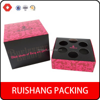 2015 New design Fancy cardboard cosmetic Essential oil packaing box