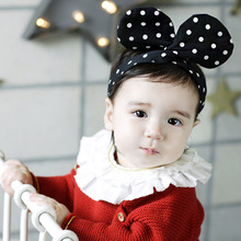 X60514A Cute Big Rabbit Ear Cotton Hair Accessories Infant Kids Headbands