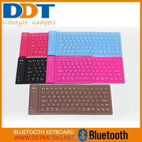 2015 flexible silicon bluetooth keyboard for smartphone,tablets and latops