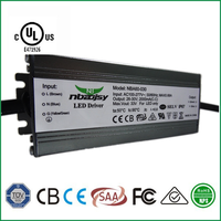 led Constant current UL driver 60w 1650mA IP67 DC26-36v led power supply AC100-277v