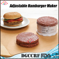 Adjustable Hamburger Burger Maker Meat press patty tool